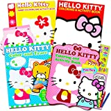 Hello Kitty Coloring & Activity Book Super Set -- 5 Hello Kitty Coloring Books, Crayons, Over 350 Hello Kitty Stickers and More (Hello Kitty Party Pack)