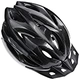 Zacro Lightweight Bike Helmet, CPSC Certified Cycle Helmet Adjustable Size for Adult with Detachable Liner with Water and Dust Resistant Cover, Grey