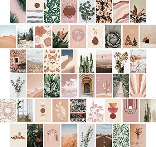 Artivo Wall Collage Kit Aesthetic Pictures, Boho Aesthetic Photo...