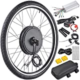 AW 48V 1000W 26' Front Wheel Electric Bicycle Motor Kit Bicycle Cycling Engine with Dual Mode Controller