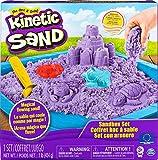 Kinetic Sand 6024397 Jouet Enfant, Loisirs Créatifs, Coffret Château-Bac à...
