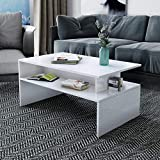 Aart Store Modern Side Table,End Table, Coffee Table, Center Table for Living Room Finish:-White