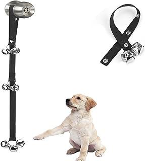 Luckyiren Upgraded Puppy Bells Dog Doorbells for Door Knob/Potty Training/Go Outside-Dog..