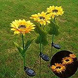 Solar Sunflower lamp(Pack-1),Garden...image