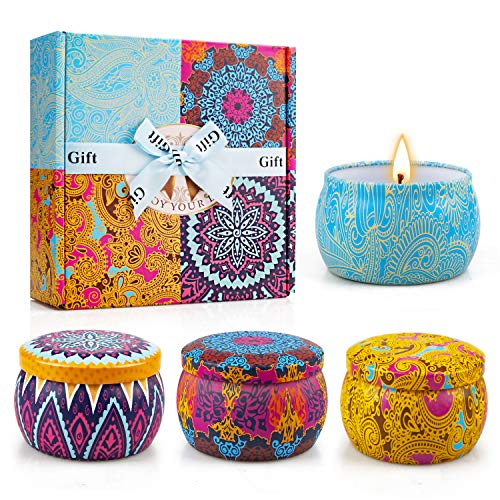Scented Candles Gifts Set for Women,Aromatherapy...