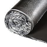 3in1 Flooring Underlayment - Vapor Barrier Padding - IIC 65 - Bestlaminate - 2mm - Silver - 100 sf/roll