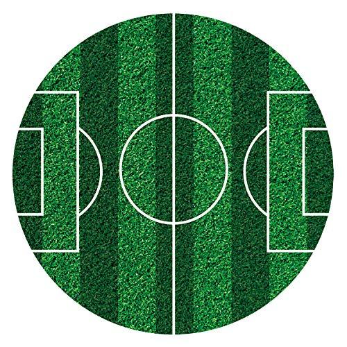 Dekora Commestibili   Decorazione Torta Calcio, Cialda Commesitibile per Compleanno-16 cm, Multicolore, 16 cm, 231359
