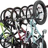 PRO BIKE TOOL Support Mural pour vélos - 3 ou 6 Versions de vélos - Support...