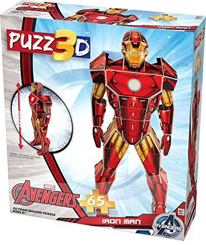 Iron Man 3D Puzzle by Cardinal