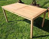 ECHT Teak Gartentische Holztisch Tisch in verschiedenen Größen - 7