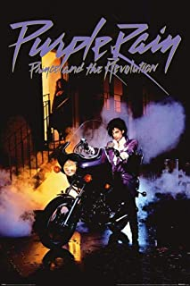 Purple Rain Movie Poster Prince #01 24x36in
