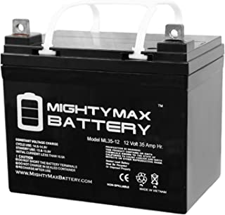 Mighty Max Battery ML35-12 – 12V 35AH U1 Deep Cycle AGM Solar Battery Replaces..