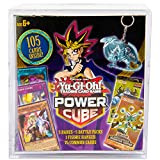 Yu-Gi-Oh! Cards Power Cube - 5 Rares   5 Battle Decks   A Figure Hanger   Factory Sealed Packs   75 Common Cards, (Model: B07H1FRKKX)