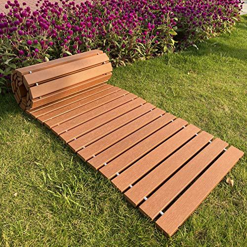 i frmmy Outdoor Weather Resistant Straight Pathway for Garden Walkway,...
