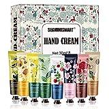 Crema de manos, juego de regalo de crema de manos, caja de regalo para mujer, crema hidratante para el cuidado de las manos ...
