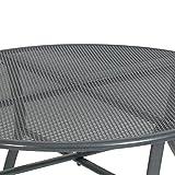 greemotion Gartentisch Toulouse rund aus kunststoffummanteltem Stahl - 3