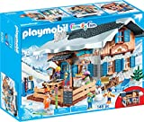 Playmobil- Chalet avec skieurs, 9280