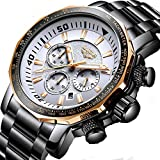 Men Watch 2019 New LIGE Top Brand Luxury Fashion Quartz Clock Men's Business Waterproof Big Dial Military Sport Watches Man Watch 71