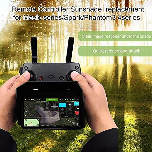 Walmeck- Compatibile con Mavic Mini Mavic Air Mavic PRO Spark Cappuccio Parasole con Telecomando per...