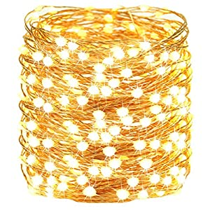 【2020 NEW Upgraded Super Bright Christmas Lights】: 2-3 times bigger and brighter than ordinary LED bulbs. The Christmas string lights plug in have remote & timer & 8 lighting modes to satisfy your diverse decorative effect. Total length is 72ft, of w...