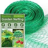 Bird Netting for Garden Protect Vegetable Plants and Fruit Trees,Plastic Trellis Netting for Against...