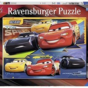 Ravensburger Puzzle 100 Piezas, Cars 3 (10961) , Modelos/colores Surtidos, 1 Unidad