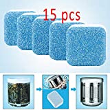 Washing Machine Cleaner, Solid Washer Deep Cleaning Tablet, 15 Count