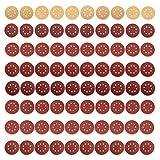 JELLAS Disques de Ponçage 80 PCS 125 mm, Papiers de Ponceuse Anti-Colmatage Professionnels 10PCS, Papiers Abrasif pour Bois 70PCS pour Ponceuse Excentrique...