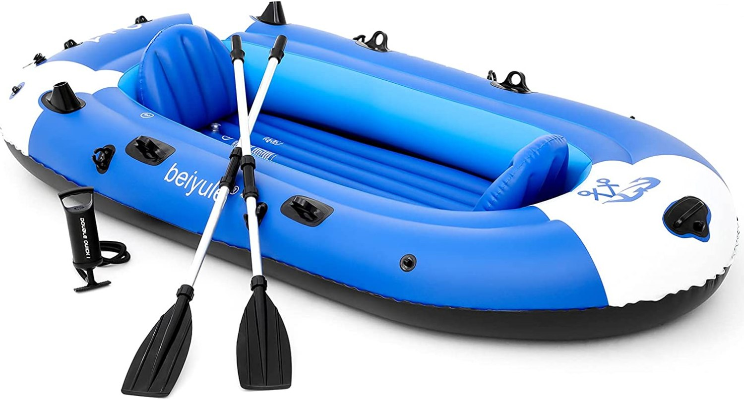 IUGGURL 4 Person Inflatable Boat review
