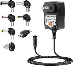Universal AC Adapter, ZOZO 12W 3V 4.5V 5V 6V 7.5V 9V 12V Regulated Multi Voltage..
