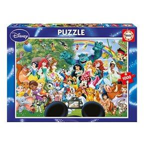Educa Borras - Serie Disney, Puzzle 1.000 piezas El maravilloso mundo de Disney (16297)