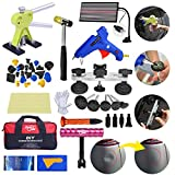 Fly5D 43pcs Paintless PDR Kit with Bag Pops a Dent Glue Pulling Tool