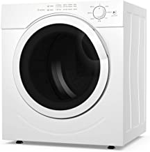 COSTWAY Electric Compact Laundry Dryer, 13LBS Capacity Tumble Dryer with 1500W Drying..