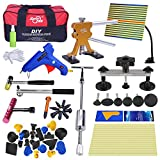 Super PDR 52pcs PDR Kits Auto Car Body Paintless Dent Repair Removal Tools Kit for Automobile Body Washing Machine Motorcycle Refrigerator