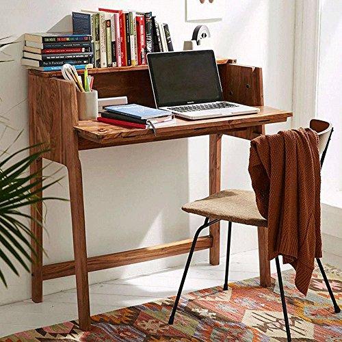 DriftingWood Sheesham Wood Writing Study Table for Home and Office   Study Desk   Honey Finish