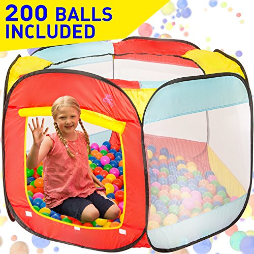 Kiddey Ball Pit Play Tent for Kids - 200...