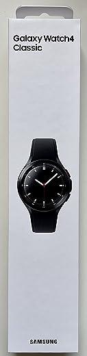 SAMSUNG Galaxy Watch 4 Classic R890 46mm Smartwatch GPS WiFi (International Model) (Black)