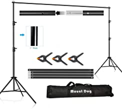 MOUNTDOG Backdrop Support Stand 10×6.5ft Adjustable Photography Studio Background..