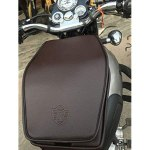 TRENDZ Royal Enfield Tank Cover , (Brown) for Classic 350/500 Standard Bullet , Electra,with RE Logo