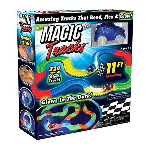 Ontel Magic Tracks The Amazing Racetrack That Can Bend, Flex and Glow...