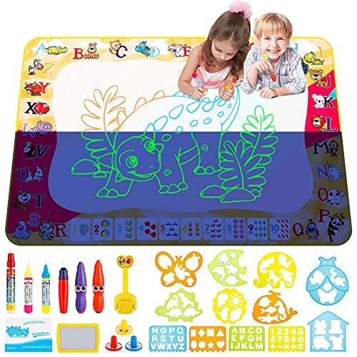Acqua Doodle Tappeto zinuo 100 * 70 cm Tappetino da Disegno Doodle Tappeto Magic Tappeto per Disegnare Bambini