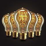 5×GreenSun E27 40W Edison Rétro Lampe Antique Vintage Incandescence...