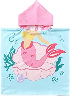 NovForth Kids Hooded Beach Towel Poncho, Baby Bath Towels with Hood for Boys Girls,..