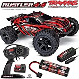 Traxxas TRA67064-1-RED Rustler 4X4: 1/10-scale 4WD Stadium Truck