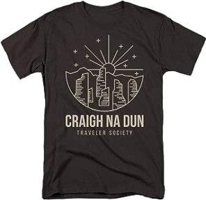 Popfunk Outlander Craigh Na Dun Traveler T Shirt & Stickers