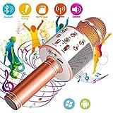 SunTop Microphone Bluetooth Sans Fil, Karaoke Sans Fil, Karaoké Micro Sans,...