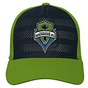 Officially licensed by MLS Team logo Embroidery on front Adidas logo at back