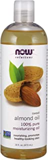 NOW Solutions, Sweet Almond Oil, 100% Pure Moisturizing Oil, Promotes Healthy-Looking..