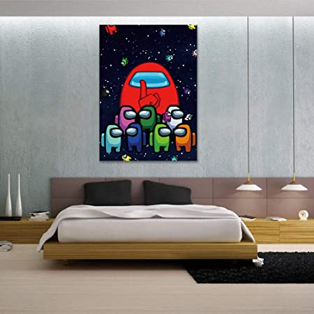 Amazon Com Game Poster 17in X 24in Unframed Video Game Room Decor Gaming Posters For Boys Bedroom Boys Room Wall Art Backdrop Posters Prints