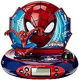 Spider Man - Radio Despertador con proyeccin de la Hora (Lexibook RP500SP)